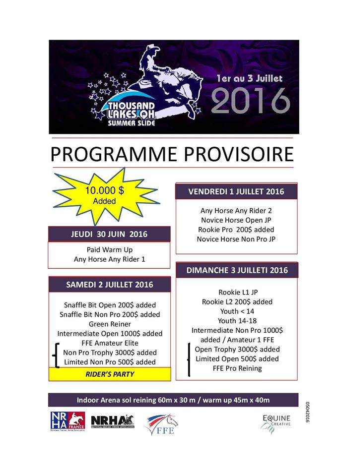 programme thousand lakes farm